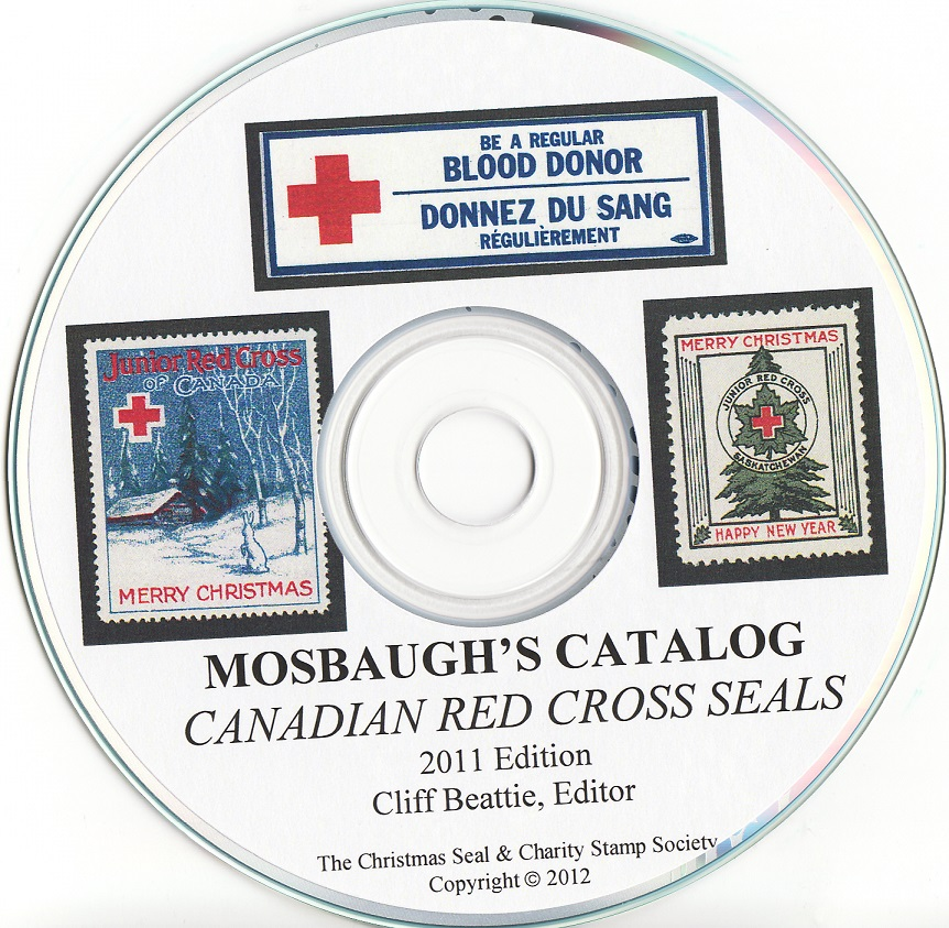 Mosbaugh's Catalog, Canadian Red Cross Seals, 2011 ed. CD, page 59