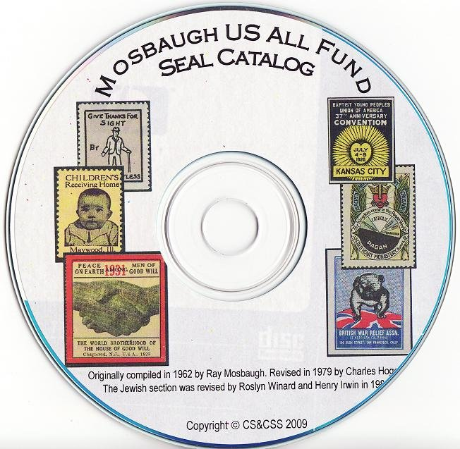 Mosbaugh's U.S. All Funds Charity Seal Catalog, Section 4 Lutheran Seals, CD