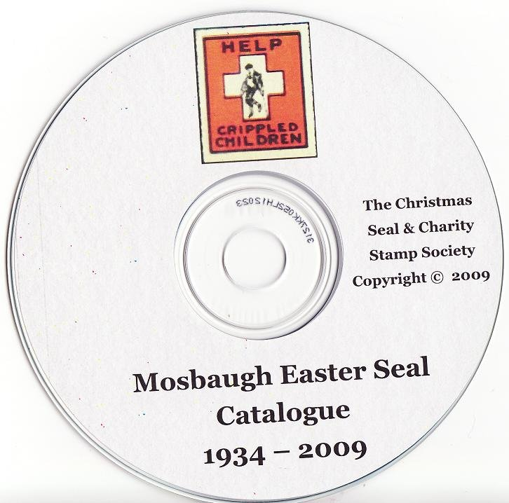 Mosbaugh's U.S. All Funds Seal Catalog, Sec. 9A, U.S. Easter Seals, Rev. 2009, CD