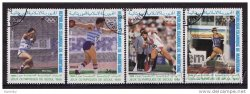 Thumbnail of Mauritania C262-5, Summer Olympics Stamps, Seoul, Sports, NH