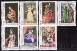 Thumbnail of Guinea-Bissau  553-60, Paintings by Spanish Artists, S/S, MNH