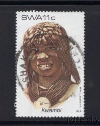 Thumbnail of SWA 524, South West Africa, Kwambi Headdress, NH
