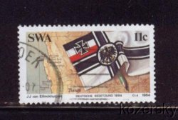 Thumbnail of SWA 528, South West Africa, German Colonization Centenary, NH