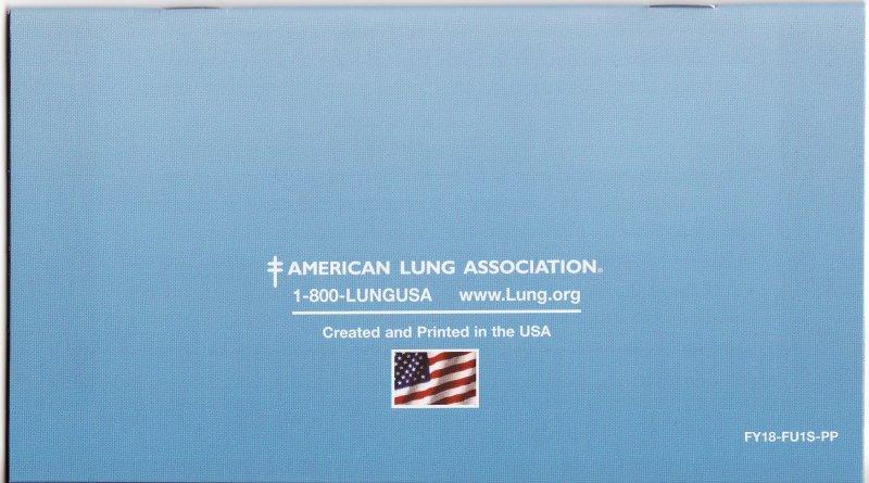 2017 ALA Renewal Campaign Donation Return Envelope, reverse of envelope