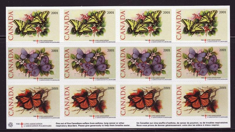 Canada 82Ddx, 2001 CLA Canada Spring Charity Seals Sheet