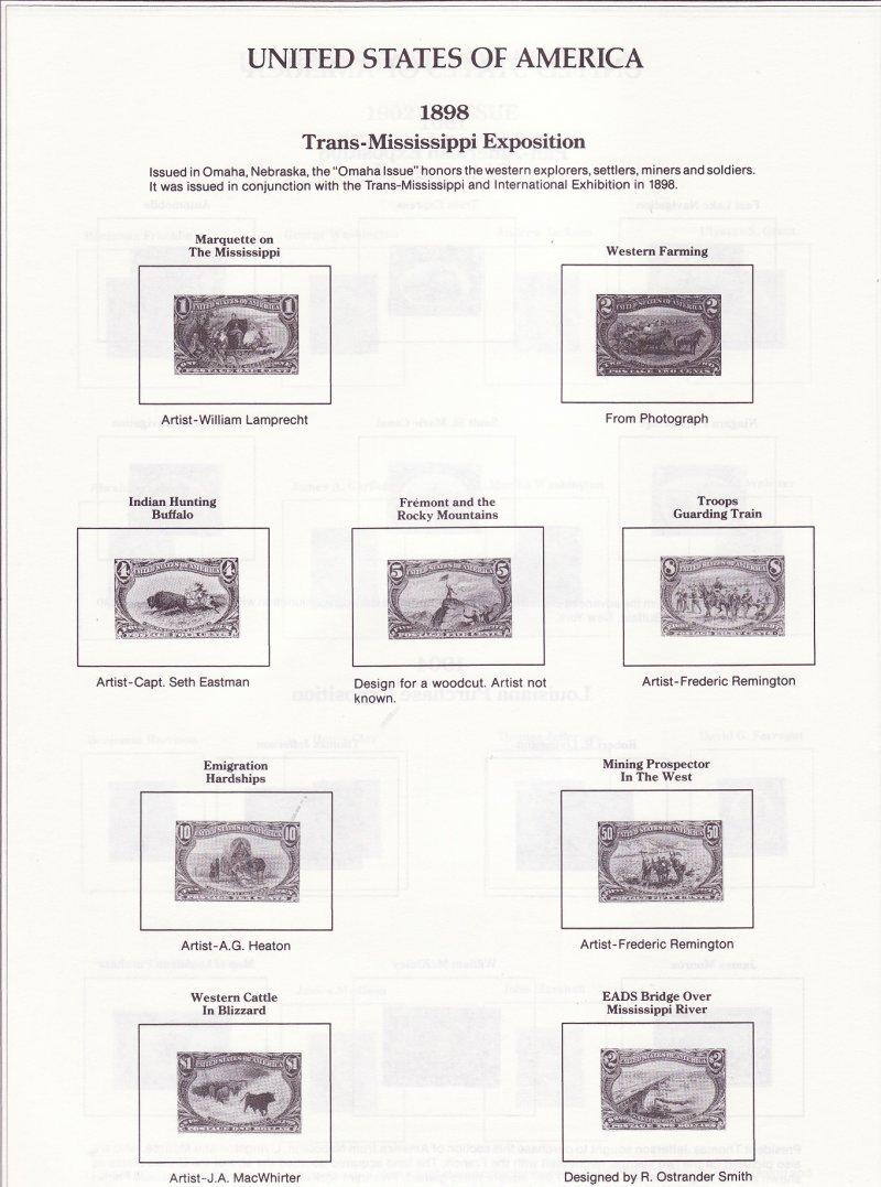 Frontier U.S. Postage Stamp Album 1990 ed.