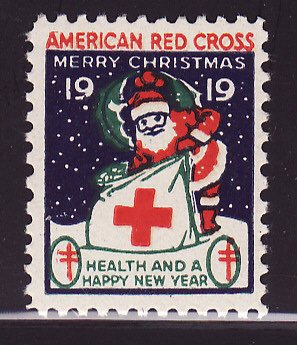 1919-1.4a, WX24, 1919 American Red Cross Christmas Seal - Type I