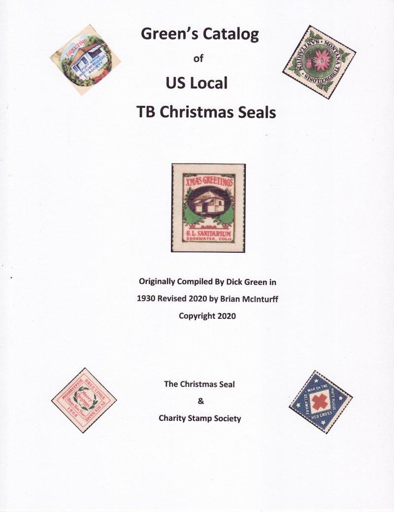 Christmas Seals 2020 Green's Catalog, Part 2, U.S. Local TB Christmas Seals, 2020 ed., CD