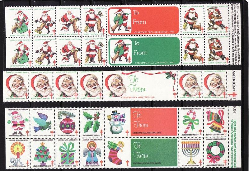 1998 U.S. National Christmas Seal Sheet