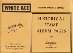 Thumbnail of Art on Stamps, White Ace Album Pages