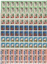 Thumbnail of   U.S. Christmas TB Seals, Sheet Collection, 1927-31, MNH