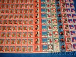 Thumbnail of   U.S. Christmas TB Seals, Sheet Collection, 1932-39, MNH