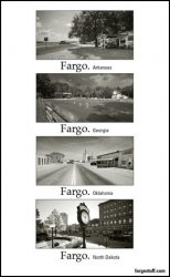 Thumbnail of Four Cities - Fargo to Fargo Magnet SALE