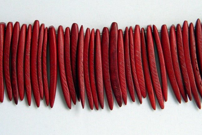 Coco Sticks, 1,5 inches, Red