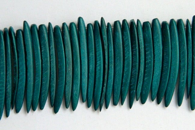 Coco Sticks, 1.5 inches, Turquoise Green