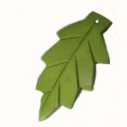 Carved Green Coco Leaves