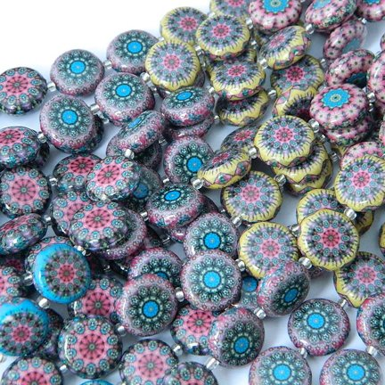 Decoupage Beads, Quilt