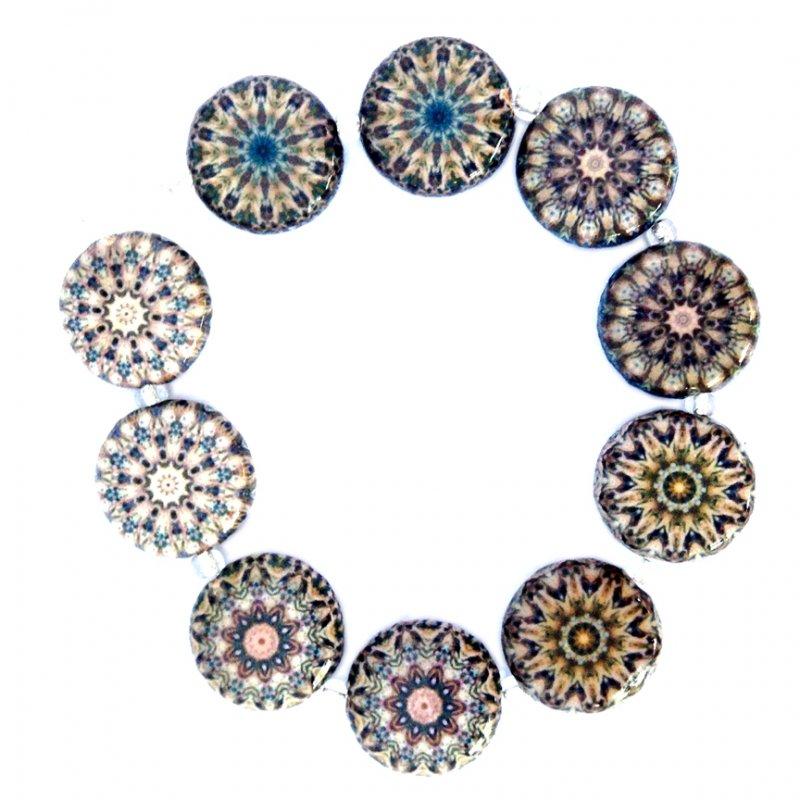 Mandala, 20mm Round