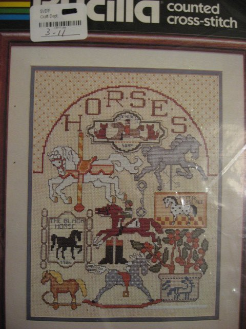 Image 0 of Bucilla Horse collection Counted Cross stitch Kit 10