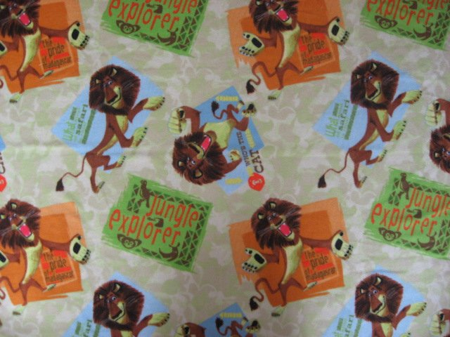 Madagascar Movie Lion Anti-pill soft fleece blanket Last one