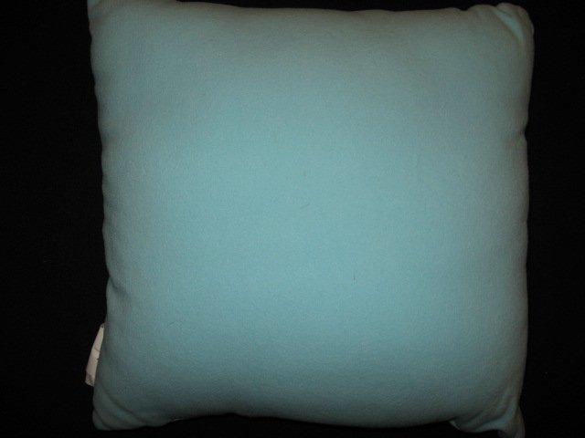 Image 1 of Martha Stewart Winter Penguin Embroidered Fleece Pillow