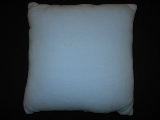 Image 1 of Martha Stewart Snowflakes Embroidered Fleece Pillow