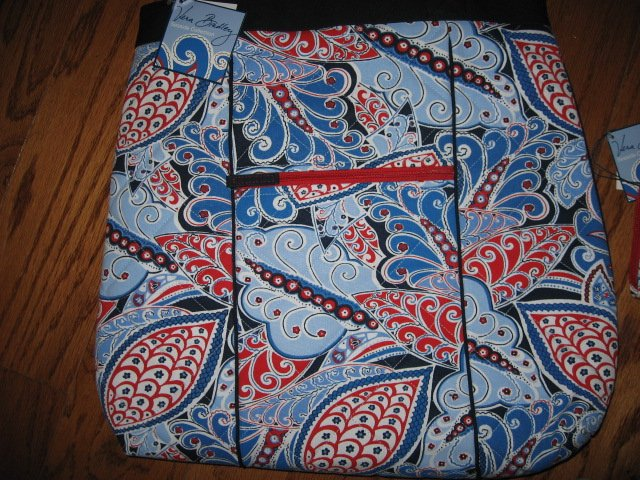 Image 3 of Vera Bradley Seaside Nautical Port Tote and Wallet New with tags
