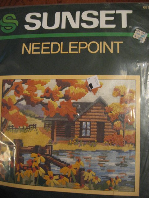 Image 0 of Sunset Needlepoint Kit 11
