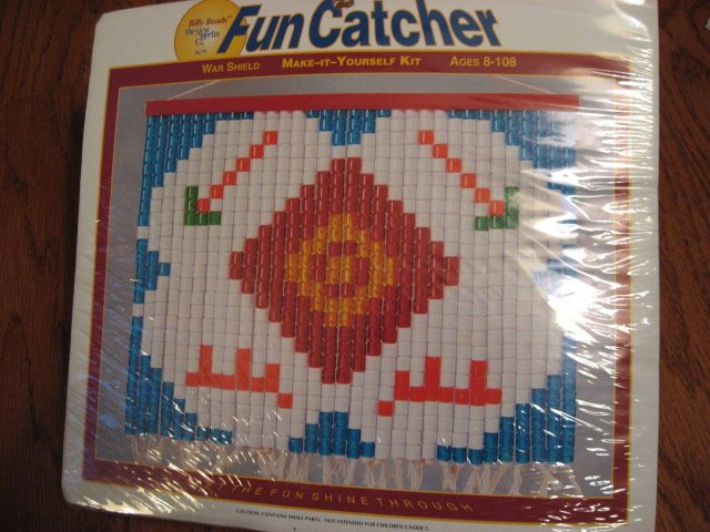 Fun Catcher Bead Kit War Shield Make it Yourself for eight years and older