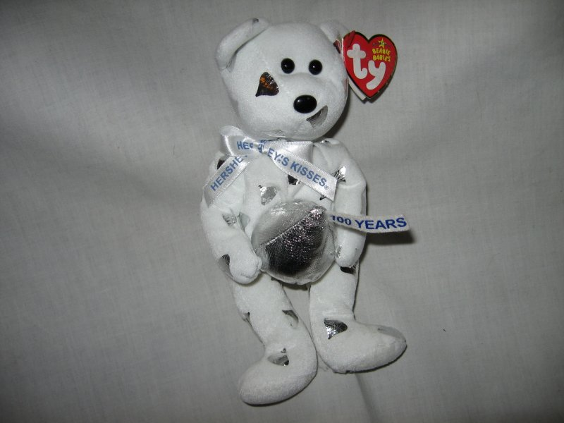 Image 1 of Collectible Ty Hershey's Candy Kisses Bear New with Tag