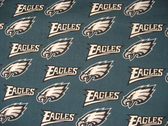 Philadelphia Eagles NFL Football Sport Cotton Fabric by the  yard