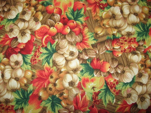 Image 0 of Kyle's Marketplace country harvest Fabric FQ 1/4 yard Out of print