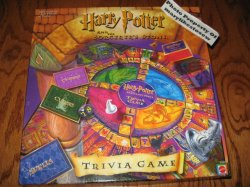 Harry Potter and the Sorcerrer's Stone Trivia Game New in Box