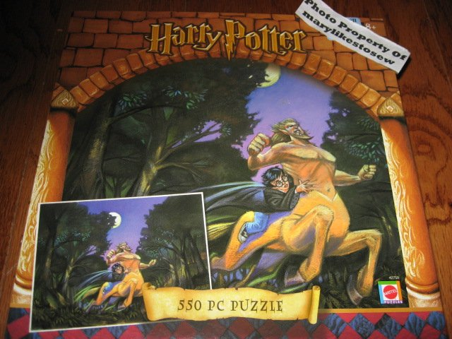 Harry Potter 550 Piece Puzzle Brand New Sealed