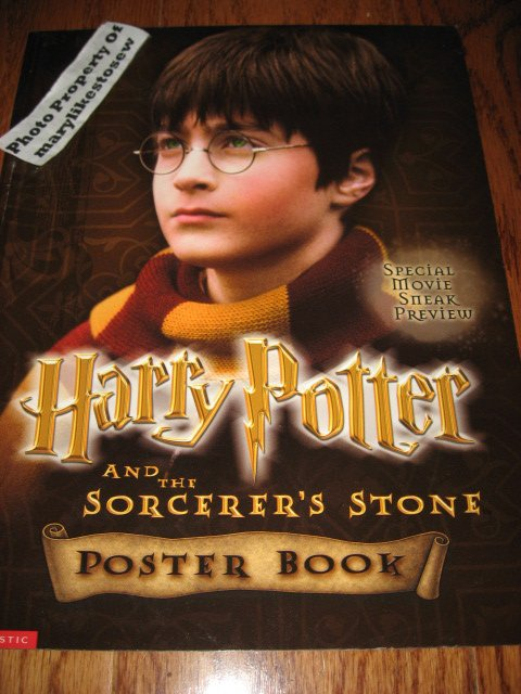 Harry Potter poster book Brand New