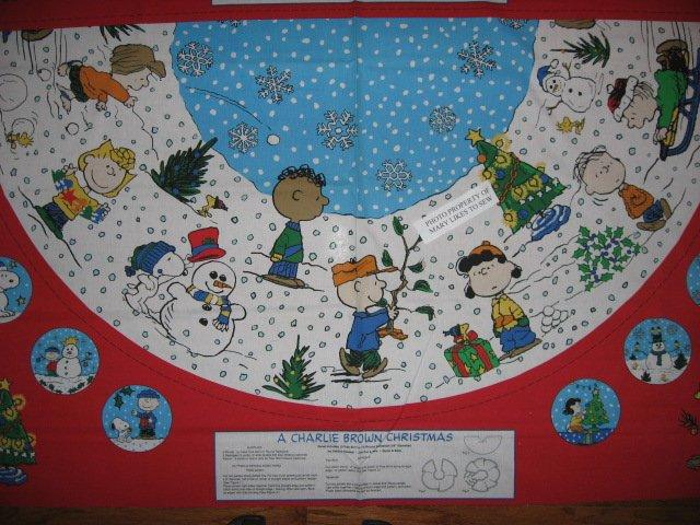 Christmas Tree Skirt Panels