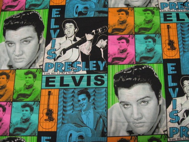 Elvis Presley soft sewing cotton Fabric By The Yard