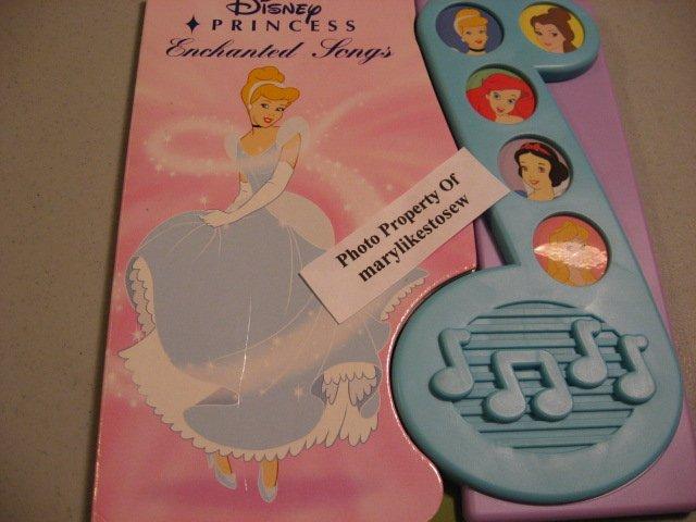Image 0 of Disney Princess Enchanted Songs Board Book /