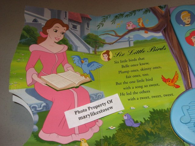 Image 1 of Disney Princess Enchanted Songs Board Book /