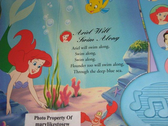 Image 3 of Disney Princess Enchanted Songs Board Book /