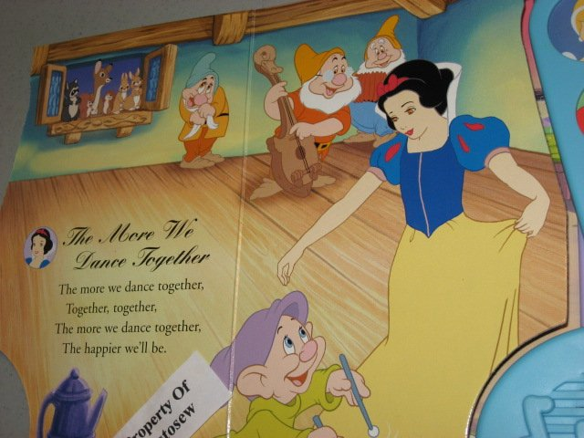 Image 4 of Disney Princess Enchanted Songs Board Book /