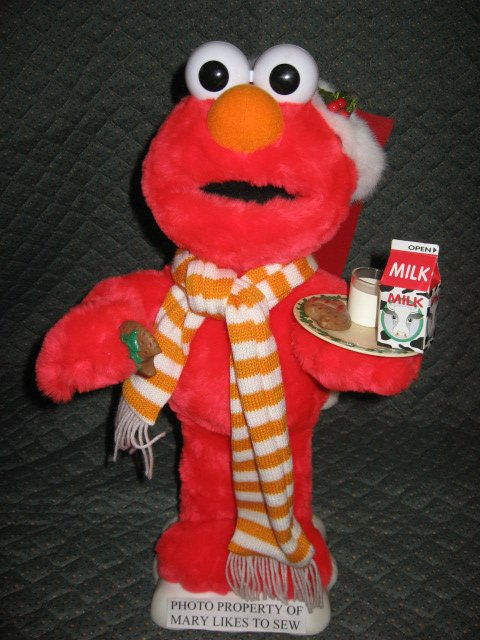 Image 0 of Christmas Elmo Santa doll 21