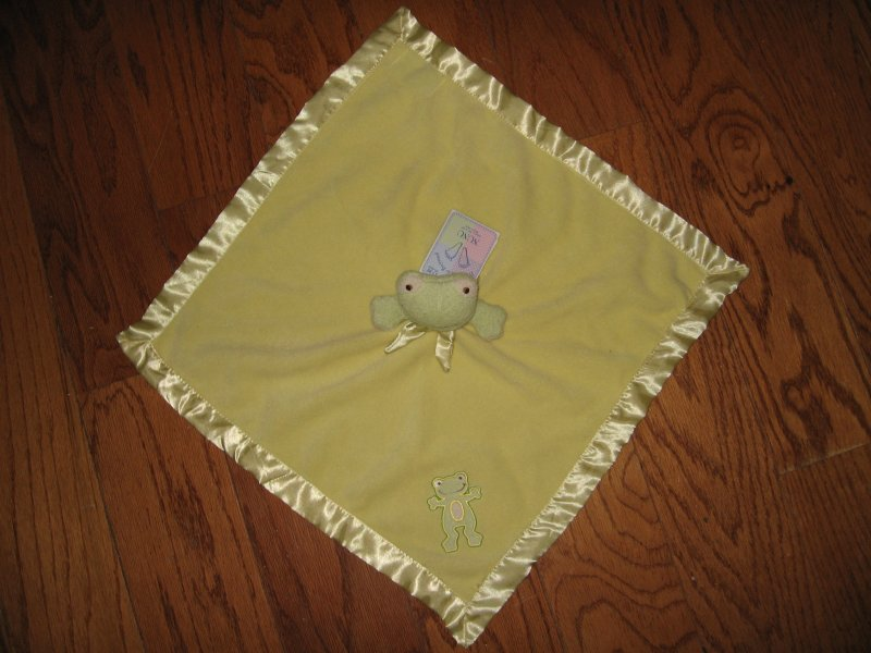 Frog Nunu Baby Lovey Security Blanket Blankets & Beyond