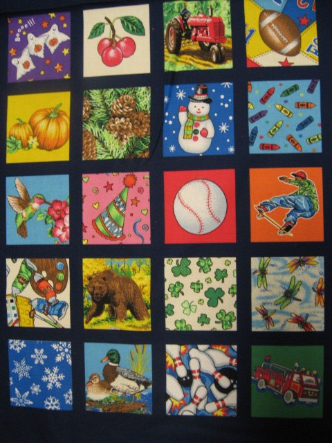 Image 2 of I See I spy child Soft Book or Wall Panel to sew Teacher /