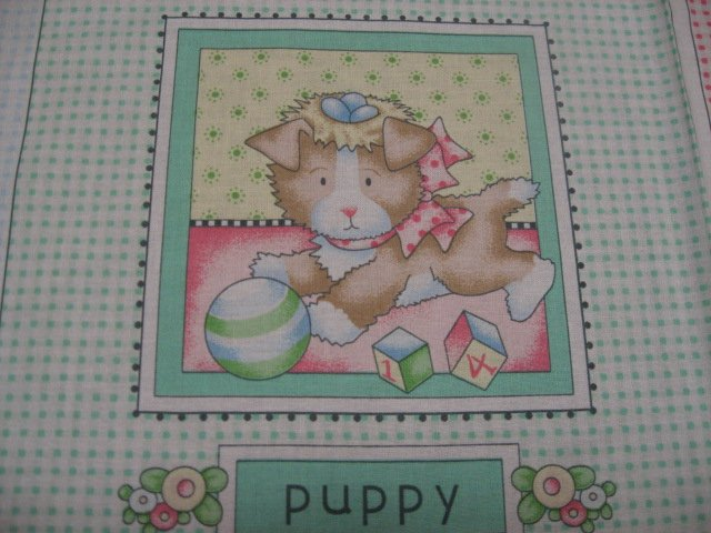 Image 2 of Mary Engelbreit Little Cuties Soft Book Fabric Panel to sew /