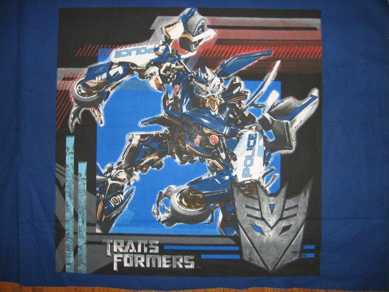 Image 1 of Transformers Hasbro Movie 4 Pillow Panels New Fabric