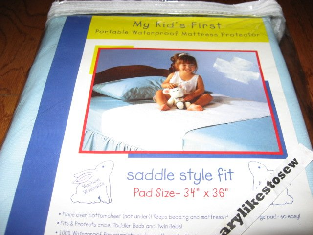 My Kid's First Portable waterproof Mattress Protector