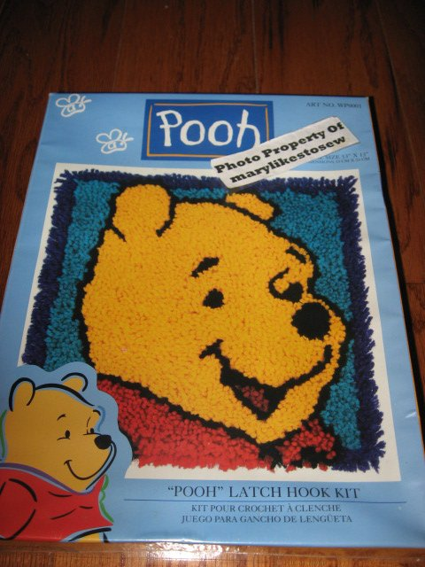 Winnie The Pooh Latch Hook Rug Kits Home Decor