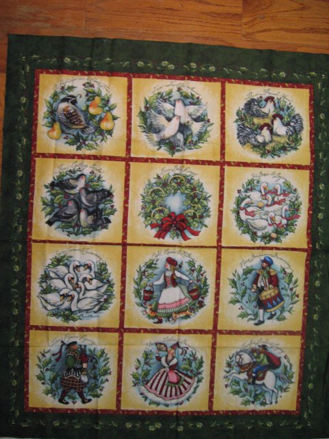 Christmas Holly Fabric