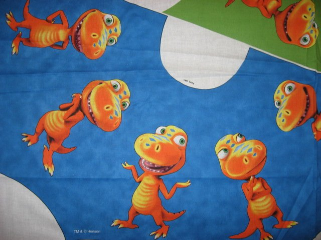 Image 3 of Licensed Dinosaur Buddy Cape and hood to sew for school play Halloween costume